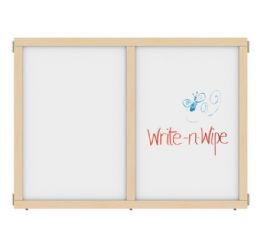 """KYDZ Suite Panel - A-height - 48"""" Wide - Write-n-Wipe - KYDZ Suite"""
