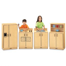Maplewave Play Kitchen 4 Piece Set - Dramatic Play