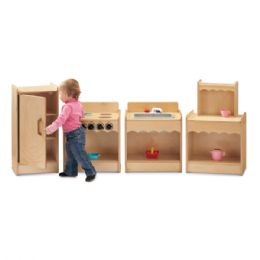 JontI-Craft Toddler Contempo Refrigerator - Dramatic Play
