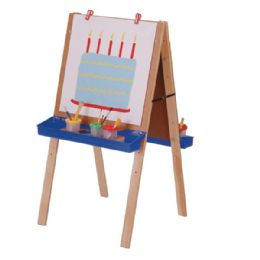 Jonti-Craft Primary Adjustable Easel - Art