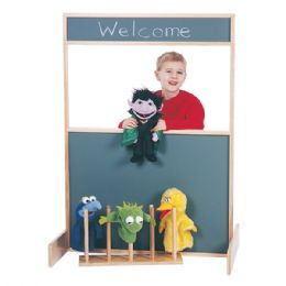 JontI-Craft Space Saver MultI-Play Screen - Chalkboard - Dramatic Play
