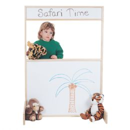 JontI-Craft Space Saver MultI-Play Screen - WritE-N-Wipe - Dramatic Play