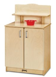JontI-Craft Culinary Creations Play Kitchen Cupboard - Dramatic Play