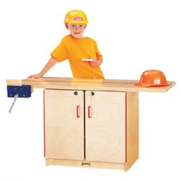 JontI-Craft Workbench - Lockable - Dramatic Play