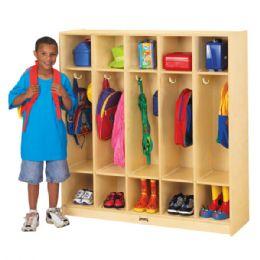 JontI-Craft 5 Section Coat Locker - Lockers