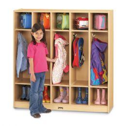Maplewave 5 Section Coat Locker - Lockers