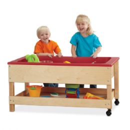 Jonti-Craft Toddler Sensory Table with Shelf - Toddlers Infants