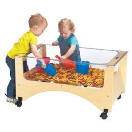 JontI-Craft Toddler SeE-Thru Sensory Table - Toddlers Infants