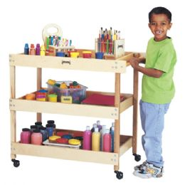 Jonti-Craft Utility Cart - Art