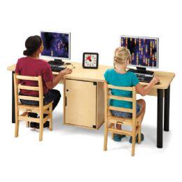 Jonti-Craft Dual Computer Lab Table - STEM