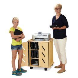 JontI-Craft Laptop And Tablet Storage Cart - Teachers