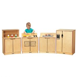 JontI-Craft KindeR-Kitchen 4 Piece Set - Dramatic Play