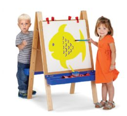 Jonti-Craft Toddler Adjustable Easel - Art