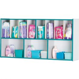 Rainbow Accents Diaper Organizer - Teal - Toddlers Infants