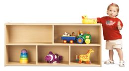 Young Time Toddler Two Shelf Storage - RTA - Young Time