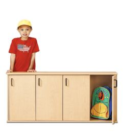 Young Time Stackable Locker With Doors - Rta - Young Time