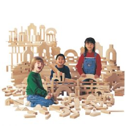 Jonti-Craft Unit Blocks Set - Junior - Block Play