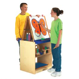 JontI-Craft School Age 2 Station Art Center - Cubbies