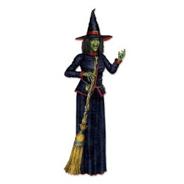 12 Units of Jointed Witch - Party Supplies