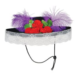6 Units of Felt Catrina Hat One Size Fits Most - Costumes & Accessories