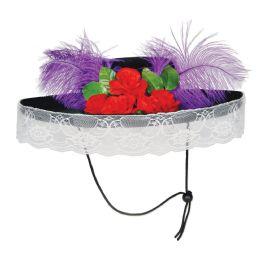 6 Units of Felt Catrina Hat one size fits most - Store