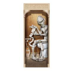 12 Units of Mummy Restroom Door Cover indoor & outdoor use - Store