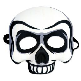 6 Units of Skull Half Mask elastic attached - Store