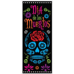 12 Units of Day Of The Dead Door Cover indoor & outdoor use - Store