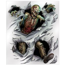 6 Units of Zombie Insta-Mural complete wall decoration - Store
