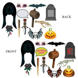 12 Units of Elvira Photo Fun Signs prtd 2 sides w/different designs - Store
