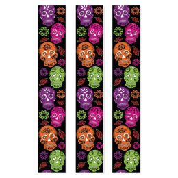 12 Units of Day Of The Dead Party Panels - Party Banners