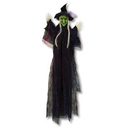 Witch Creepy Creature Posable Arms; Indoor Use Only; No Retail Packaging - Party Novelties