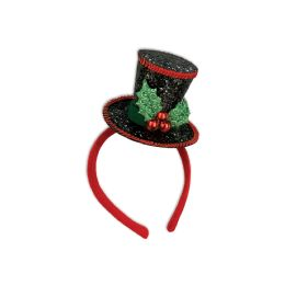 12 Units of Caroler Headband Attached To SnaP-On Headband - Costumes & Accessories