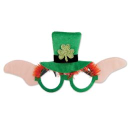 12 Units of Leprechaun Glasses One Size Fits Most - Party Favors