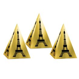 12 Units of Eiffel Tower Favor Boxes Assembly Required - Party Novelties