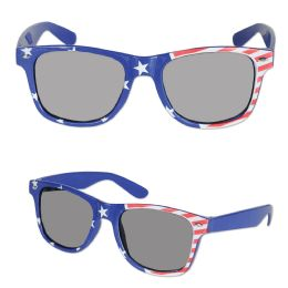 6 Units of Patriotic Glasses One Size Fits Most - 4th Of July