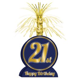 12 Units of 21st Birthday Centerpiece - Party Center Pieces
