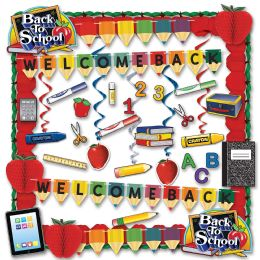 School Days Decorating Kit Piece Count: 36 - Party Supplies