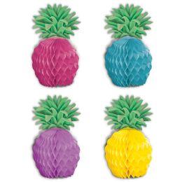 12 Units of Pineapple Mini Centerpieces - Party Center Pieces
