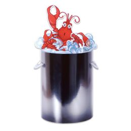 12 Units of 3-D Crawfish Centerpiece Assembly Required - Party Center Pieces