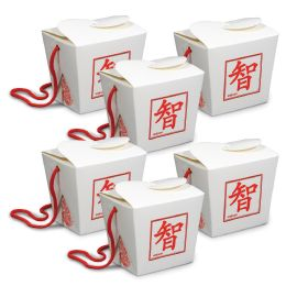 12 Units of Asian Favor Boxes - Pint Use For Party Favors - Party Favors