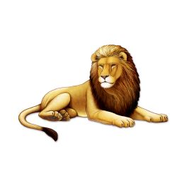12 Units of Jointed Lion Prtd 2 Sides - Party Supplies