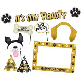 12 Units of Dog Birthday Party Kit - Party Accessory Sets