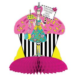 12 Units of Dolly Mama's Adult Celebratn Centerpiece - Party Center Pieces