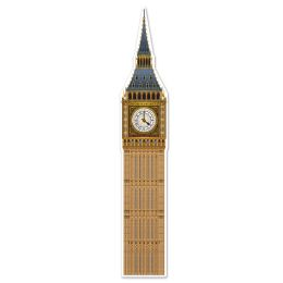12 Units of Jointed Big Ben Prtd 2 Sides - Party Supplies