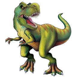 12 Units of Jointed Tyrannosaurus - Party Supplies
