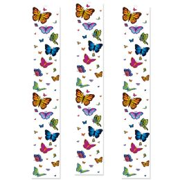 12 Units of Butterfly Party Panels - Party Novelties