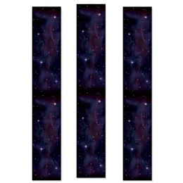 12 Units of Starry Night Party Panels - Party Novelties