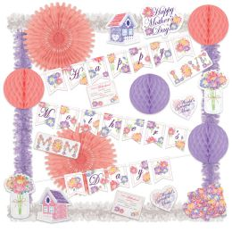 Mother's Day Decorating Kit Piece Count: 23 - Party Supplies