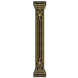 12 Units of Jtd Great 20's Column PulL-Down Cutout - Party Supplies